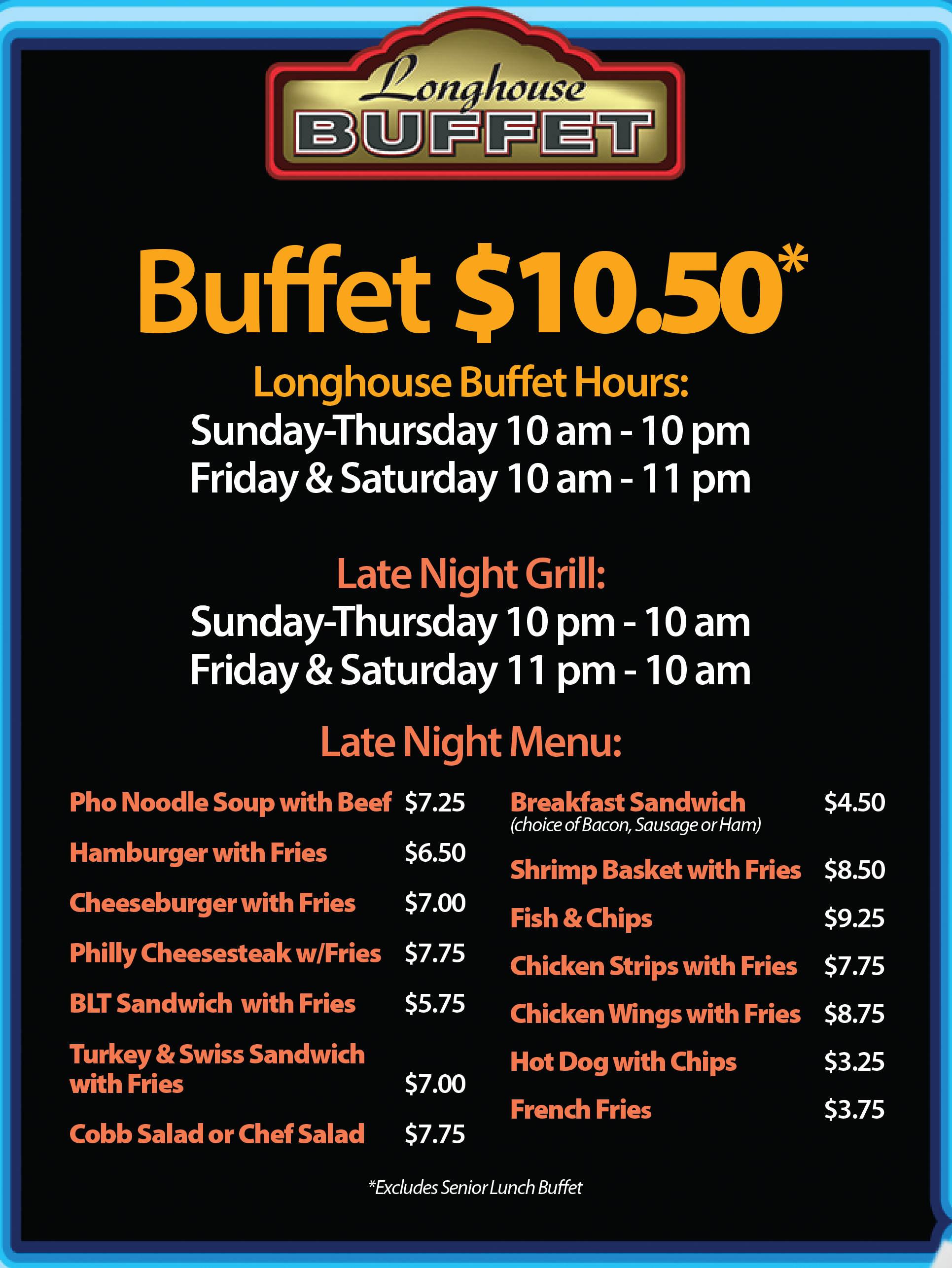 Clearwater casino lunch buffet