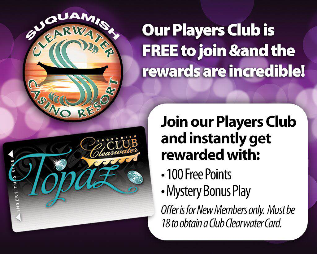 New Member Offer Clearwater Casino Resort