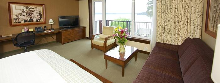 Premium hotel suite