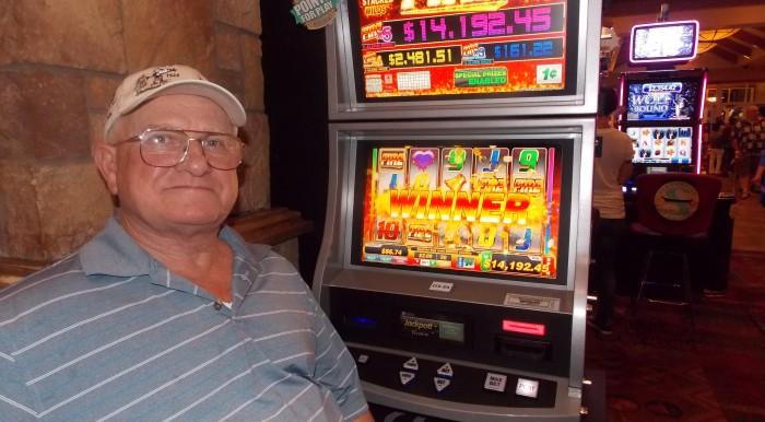 Jimmie Harrison D3-01 Fire Progressive $14,192.45 Sept. 06, 2014