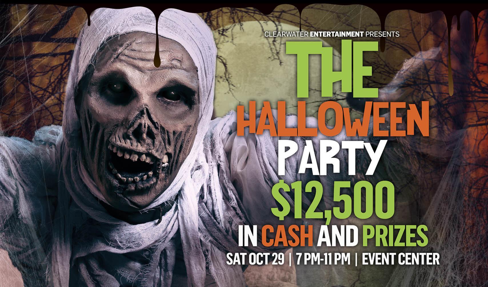 Clearwater Casino Resort Halloween Party 2016