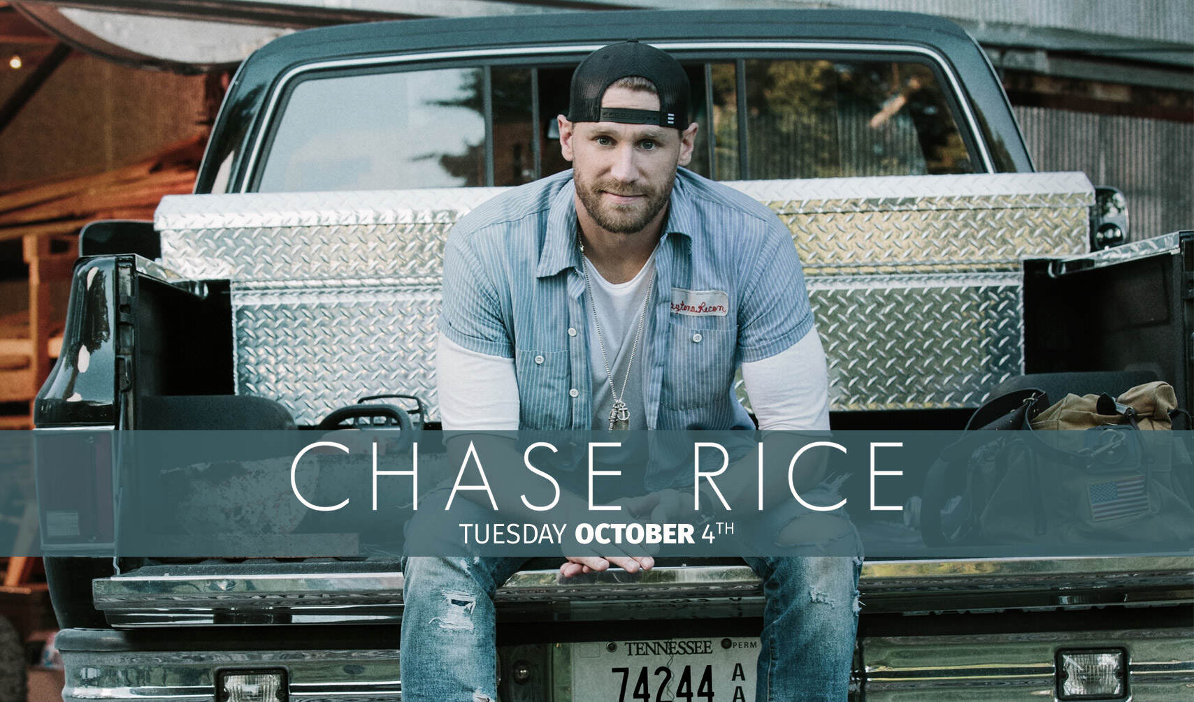 Chase Rice at Clearwater Casino Resort