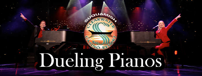 Dueling Pianos 2017 Clearwater Casino Resort Beach Rock