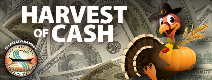 Clearwater Casino Resort Harvest Of Cash