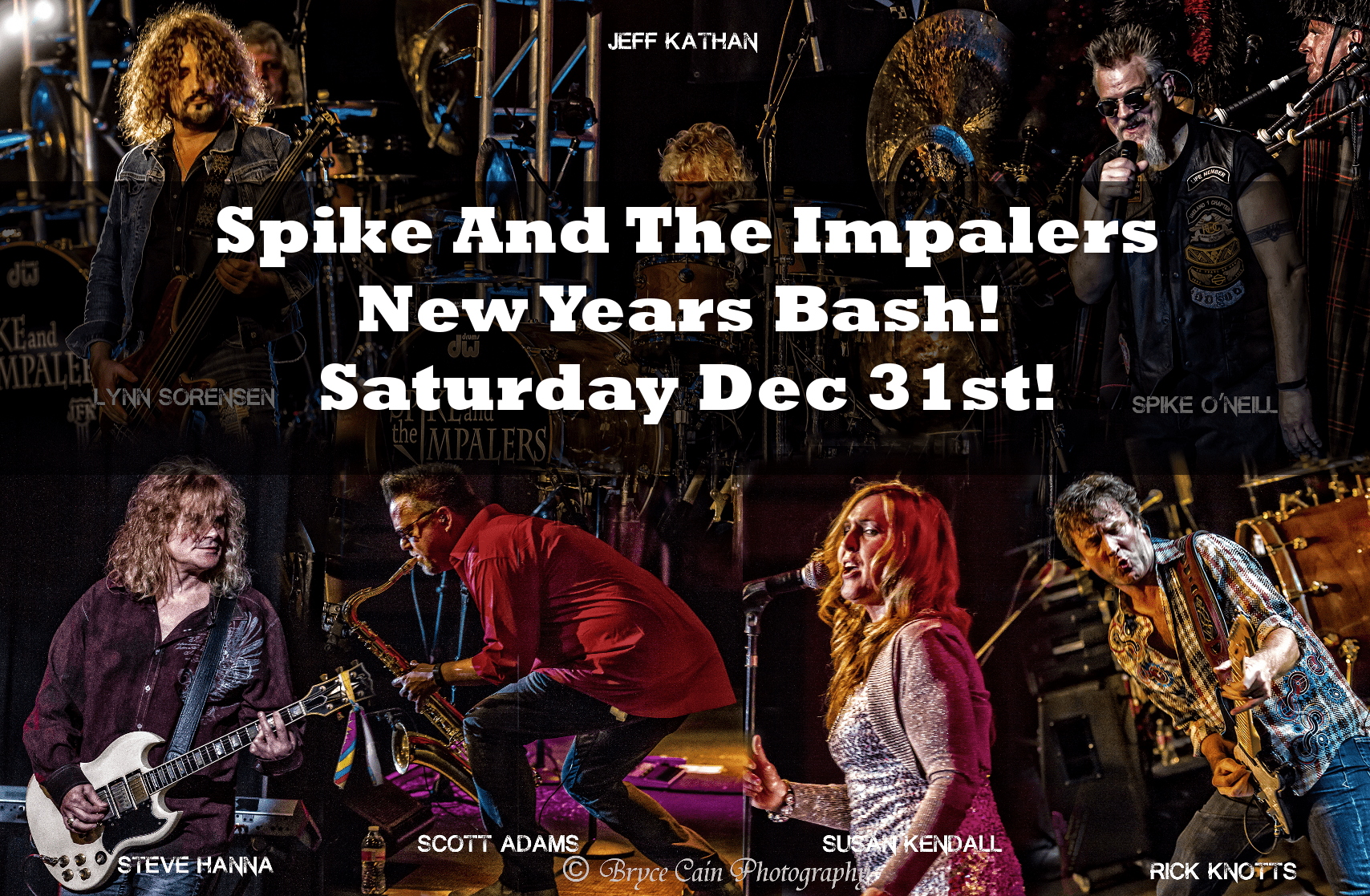 Spike & The Impalers New Year's Eve Bash Clearwater Casino Resort