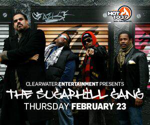 "The Sugarhill Gang ""Rapper's Delight"" - The Fathers of Hip Hop in the Beach Rock Lounge"