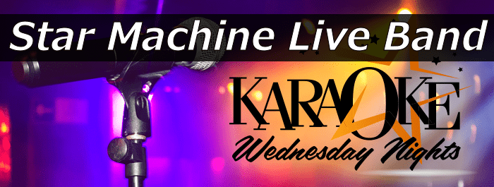 Star Machine Live Band Karaoke