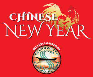 Chinese New Year at Clearwater Casino resort