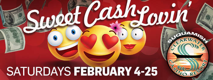 Sweet Cash Loving at Clearwater Casino