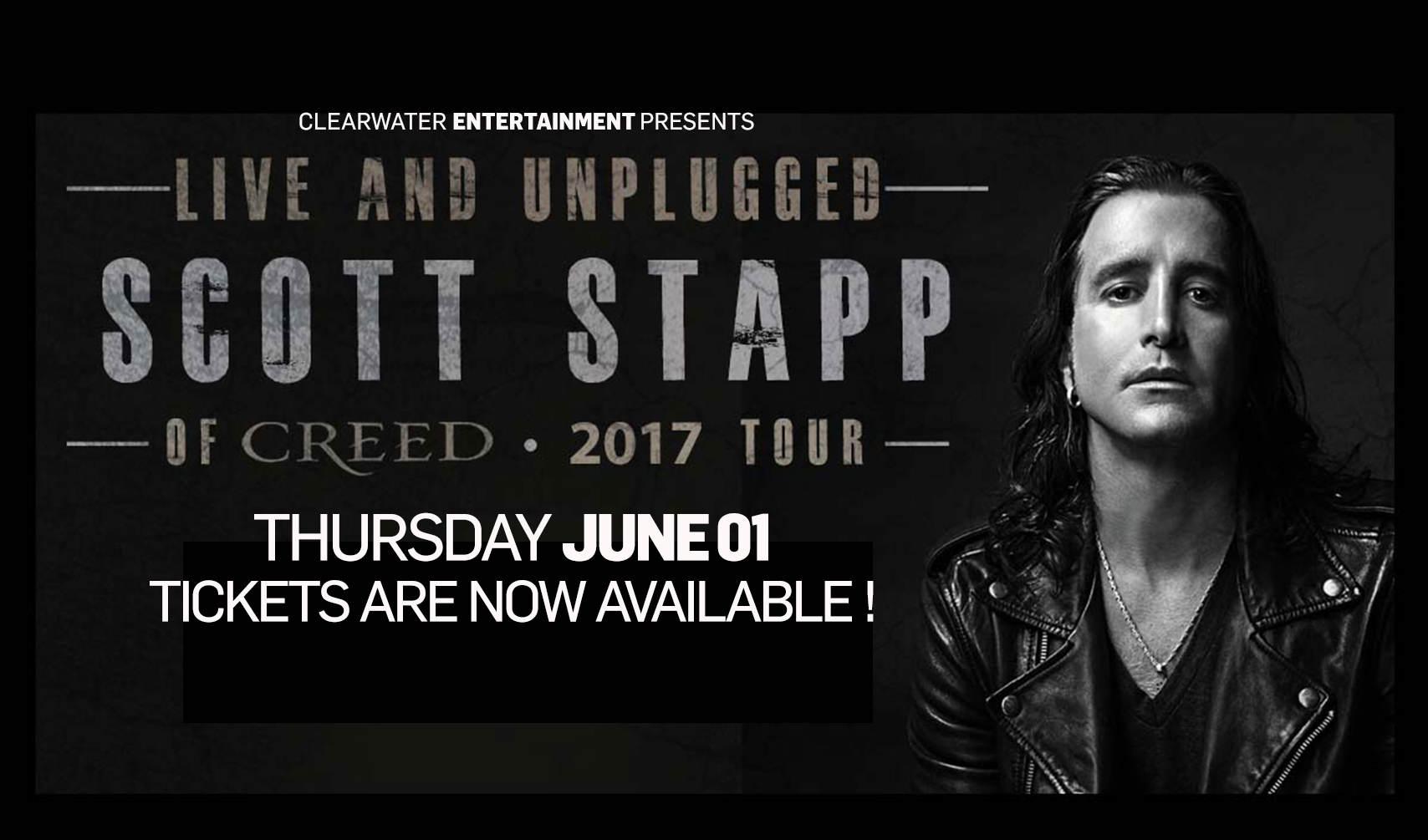 Scott Stapp at Clearwater Casino Resort