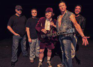 Bonfire AC/DC Tribute Performances At The Passage 2017 at Clearwater Casino & Resort