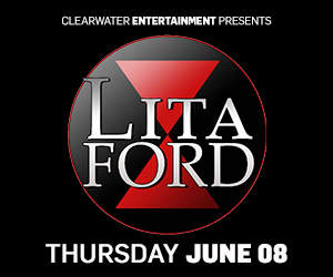 Lita Ford at Clearwater Casino Resort!