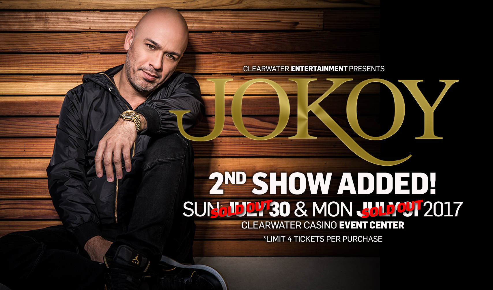 Jo Koy Two Shows Sold Our Clearwater Casino Resort