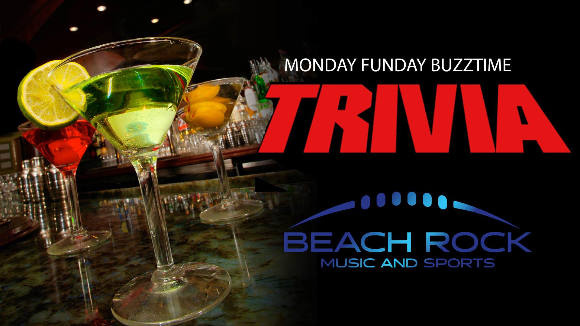 Monday Funday Buzztime Trivia