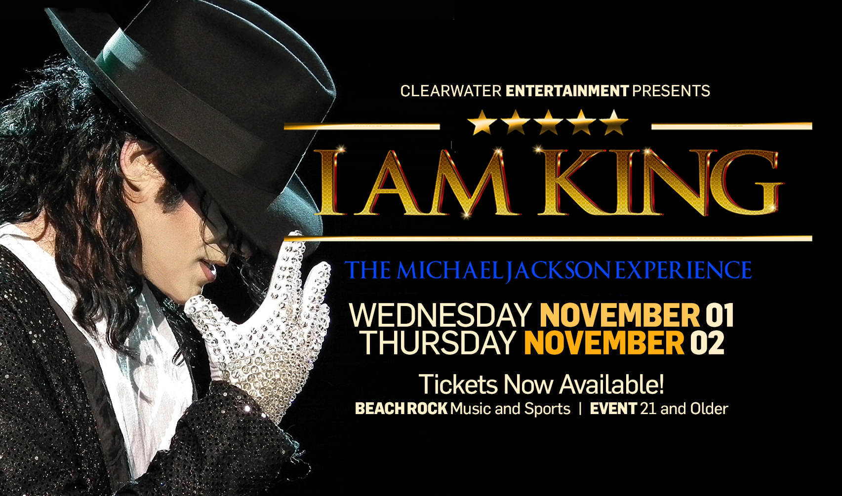 I Am King Michael Jackson Tribute Clearwater Casino