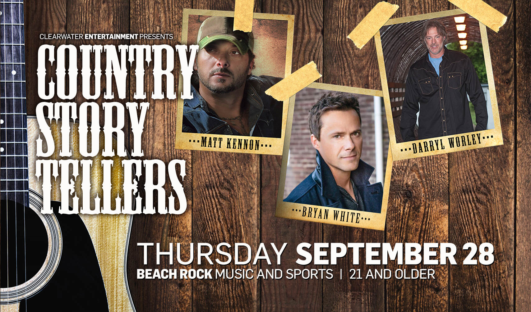 Country Story Tellers Rev3 Clearwater Casino Resort