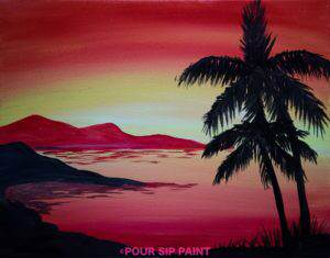 Paint & Sip at Clearwater Casino Resort's Beach Rock Lounge