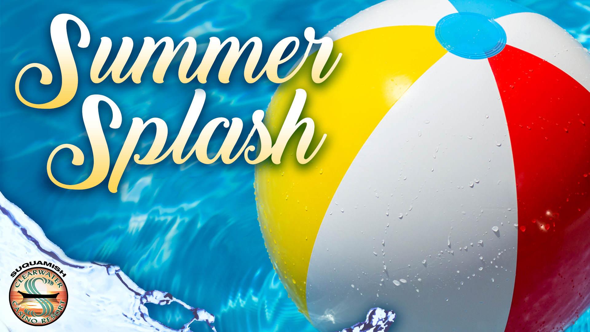 Clearwater Casino Resort Summer Splash Hotel Package in August