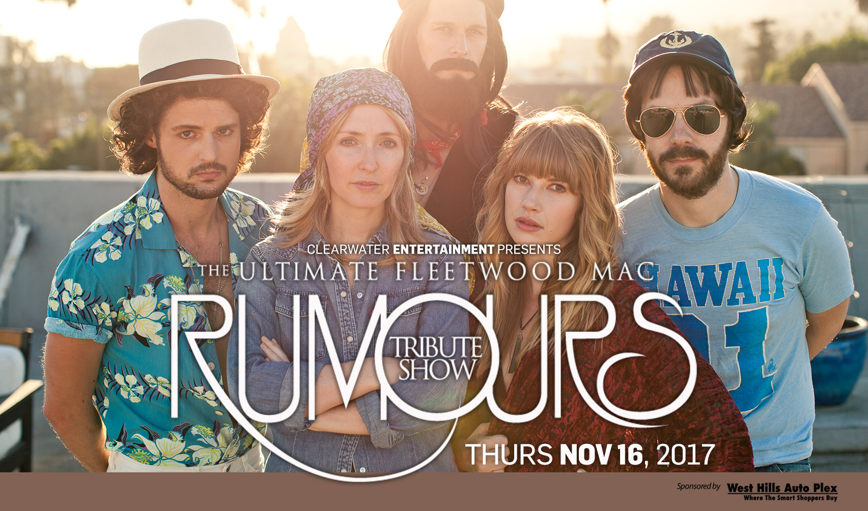 Rumours: The Ultimate Fleetwood Mac Tribute - Nov 16th