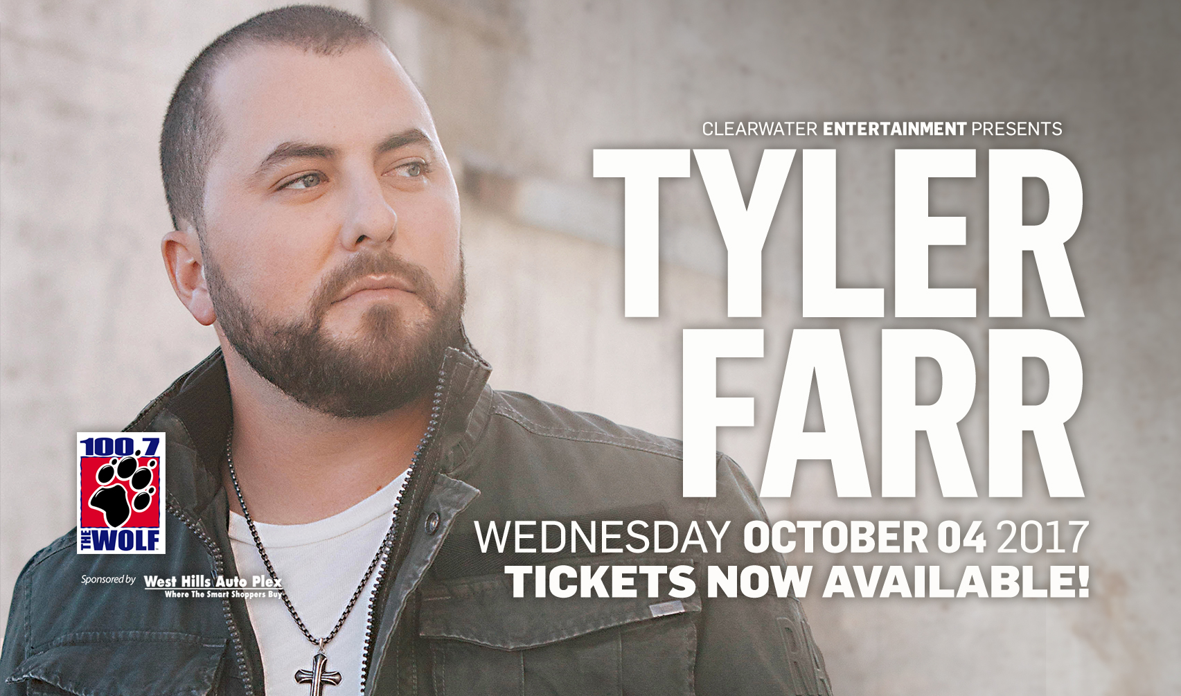 Tyler Farr at Clearwater Casino Resort