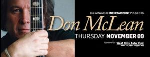 Don McLean Clearwater casino resort