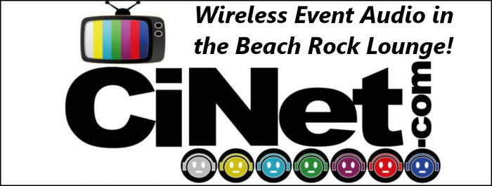 Cinet in the Beach Rock Music & Sports Lounge