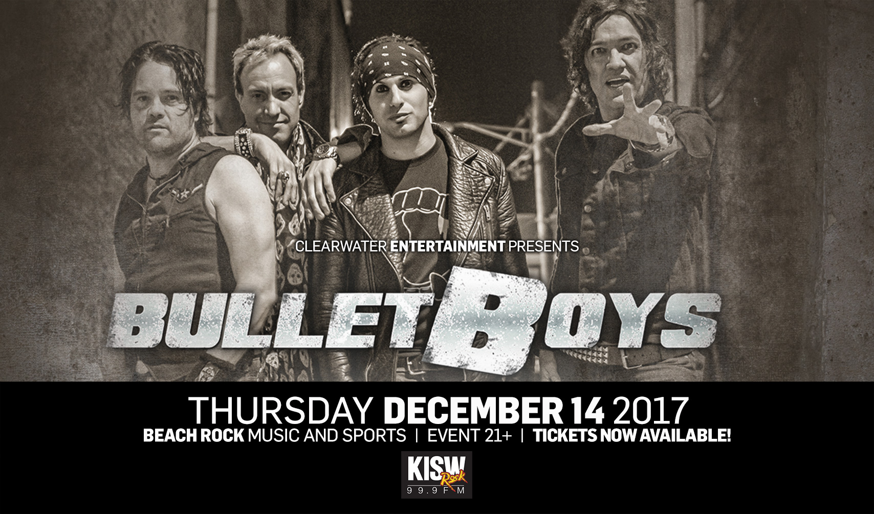 The BulletBoys at Clearwater Casino Resort
