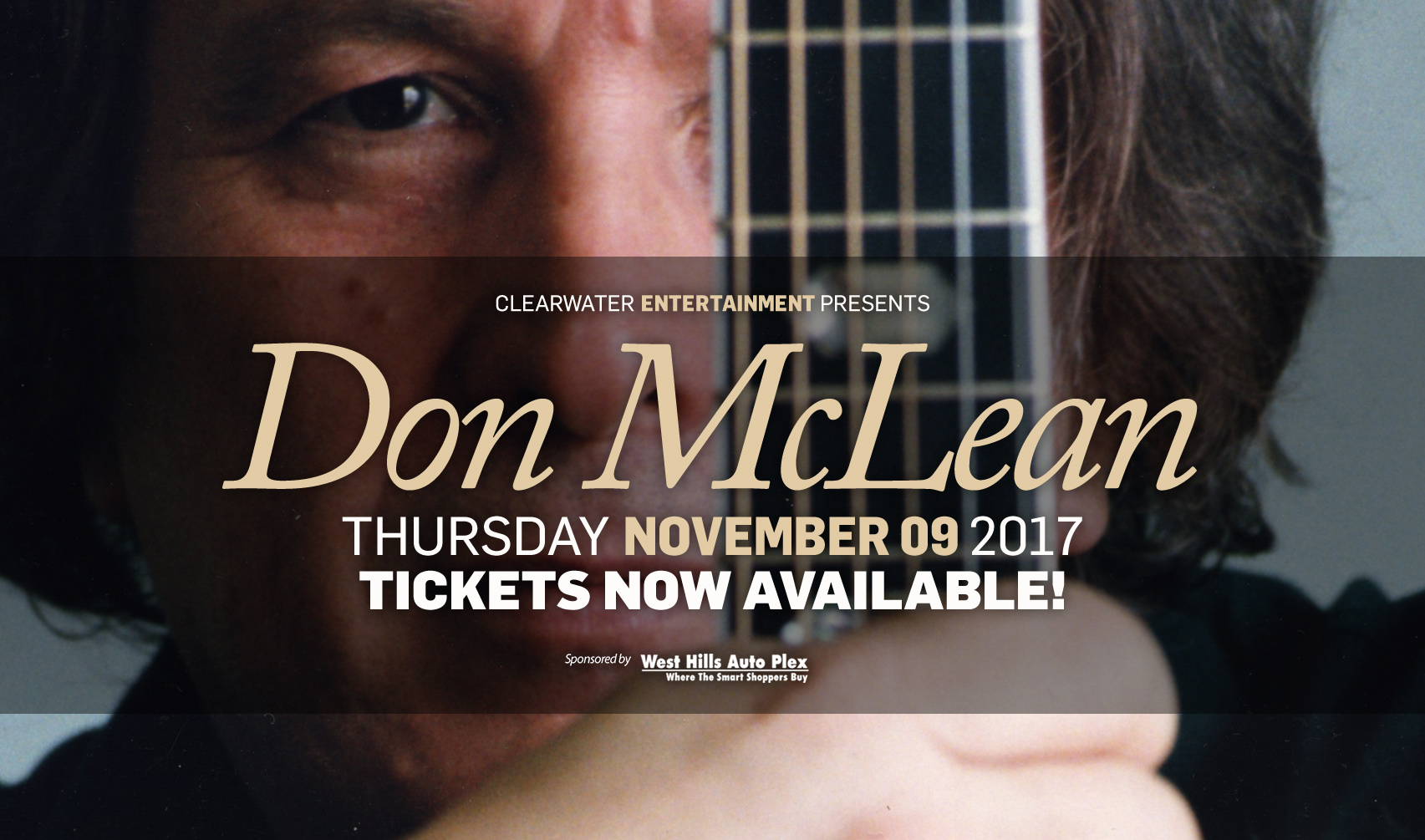 Don McLean at Clearwater Casino Resort