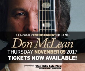 Don McLean Clearwater Casino Resort