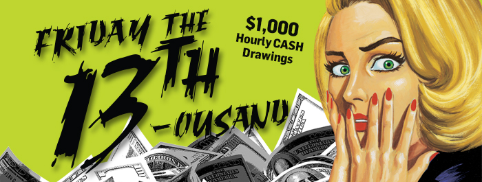 Friday the 13th-ousand at Clearwater Casino Resort