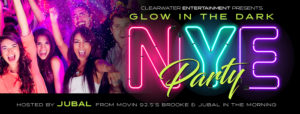 GLOW IN THE DARK NYE PARTY!