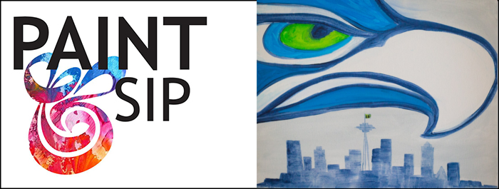 Seahawk Paint And Sip