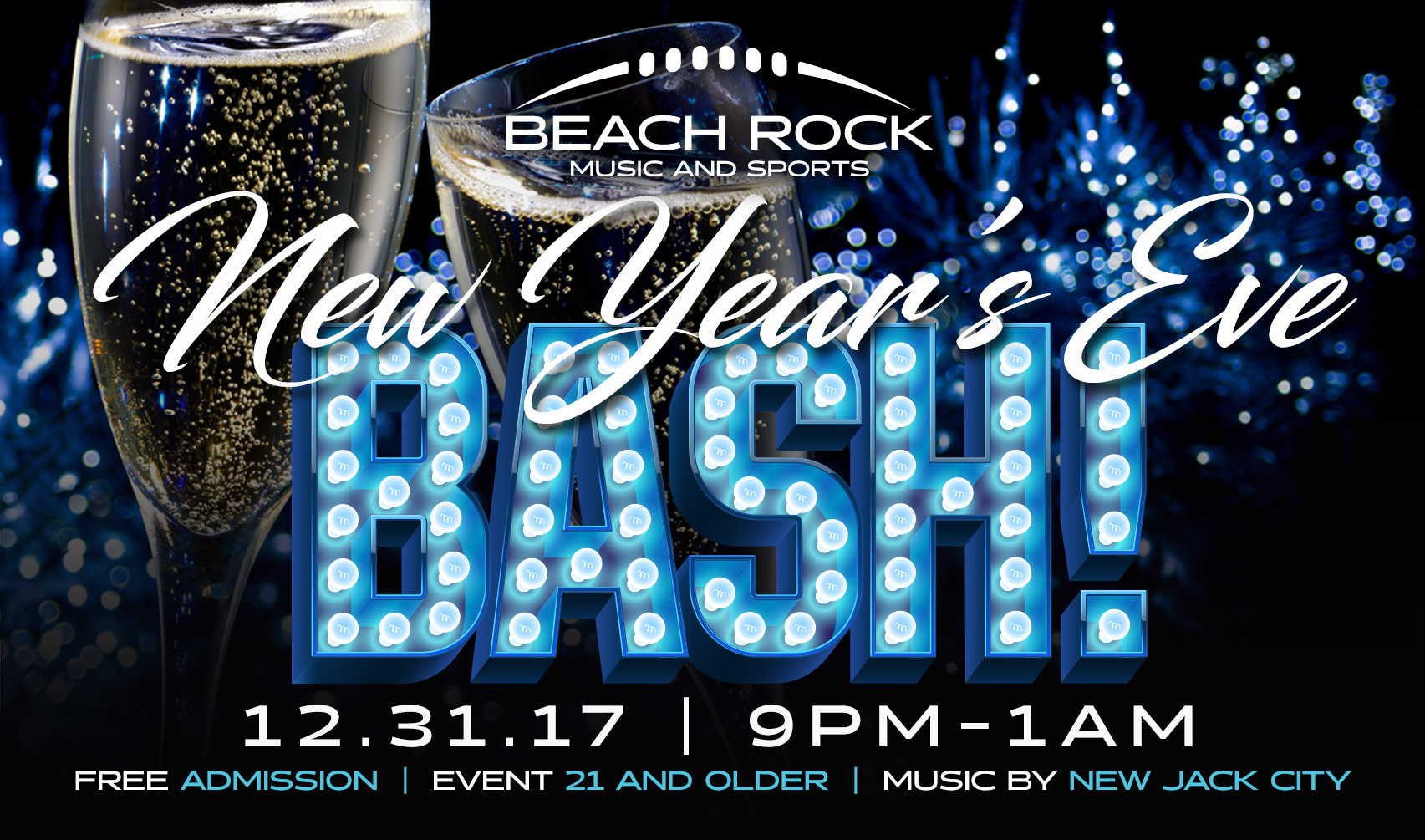 Beach Rock New Year's Eve Bash