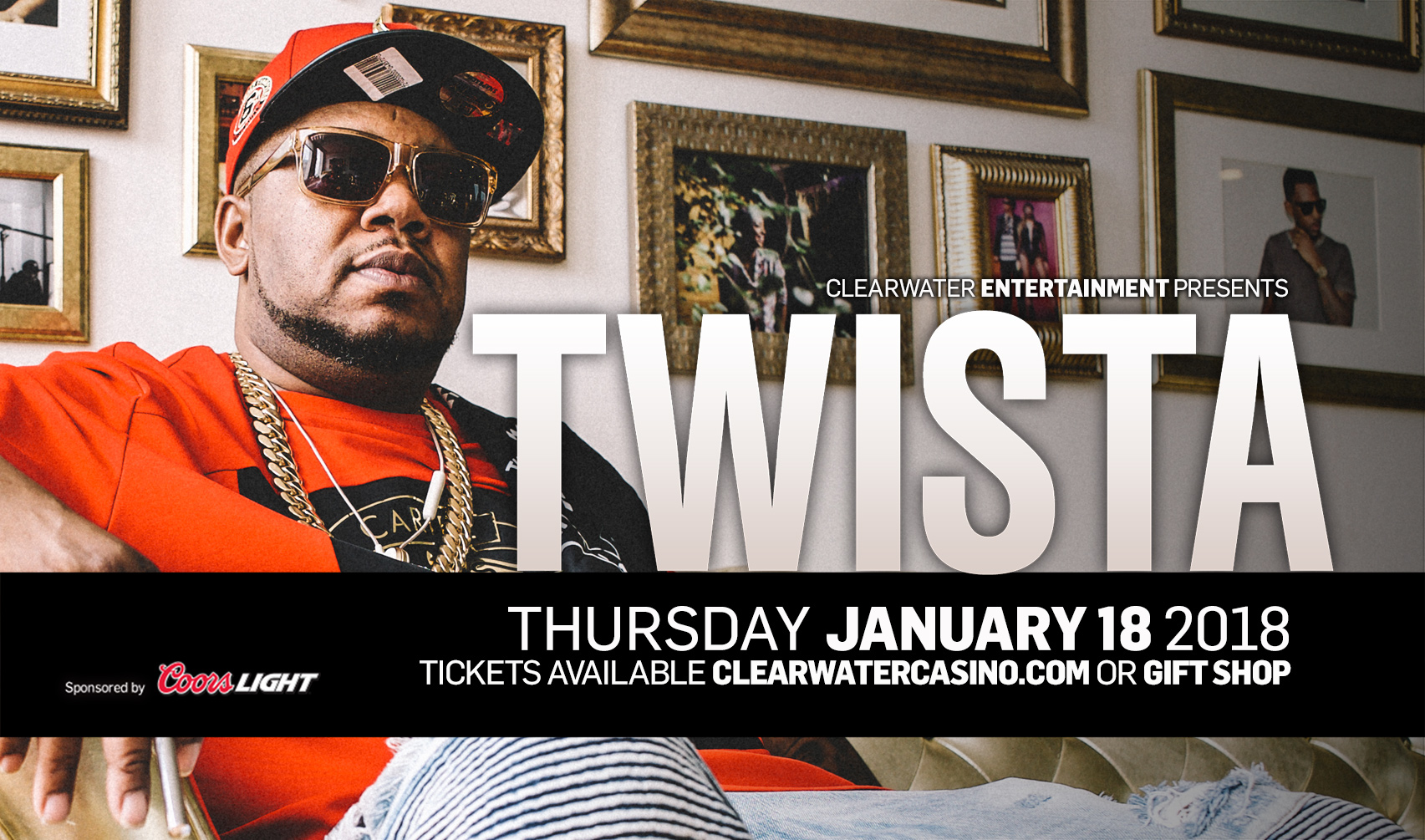 Twista Beach Rock Lounge Clearwater Casino Resort