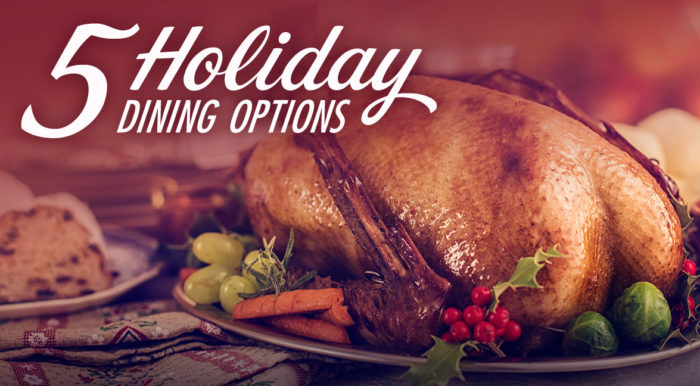 Five Holiday Dining Options at Clearwater Casino Resort