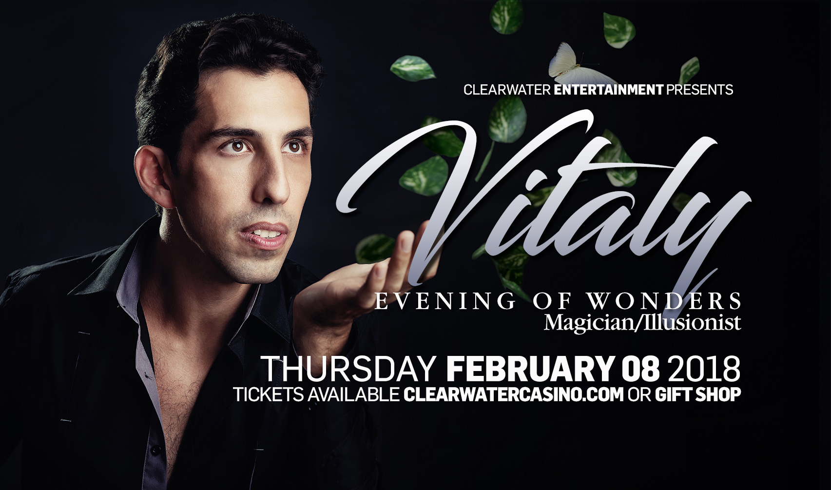 Vitaly Master Illusionist – Feb 8th