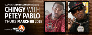Chingy & Petey Pablo at Beach Rock Music & Sports