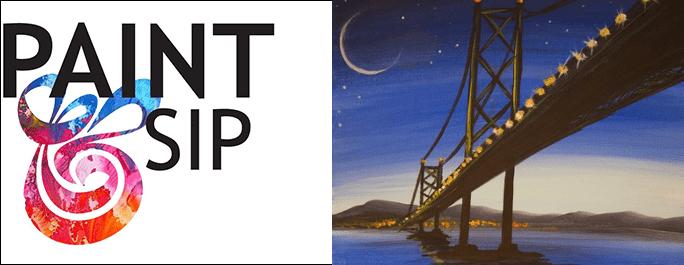 Paint & Sip March 2018 Beach Rock Bridge