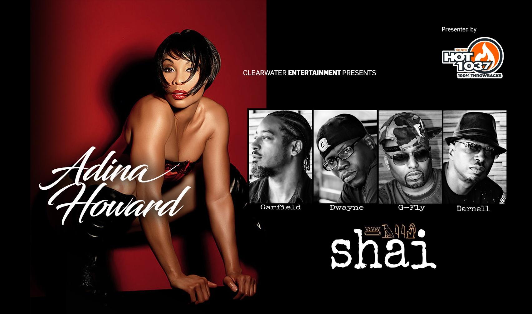 SHAI & Adina Howard Tickets