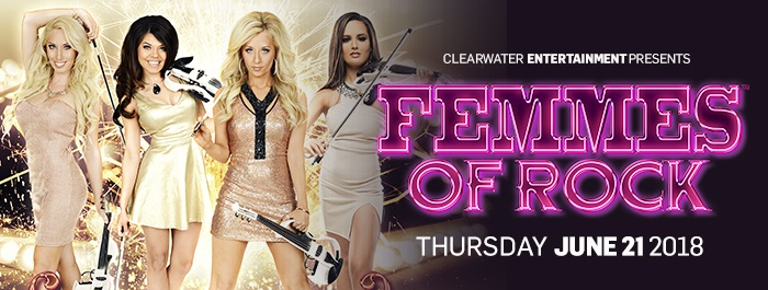Femmes Of Rock at Clearwater Casino Resort