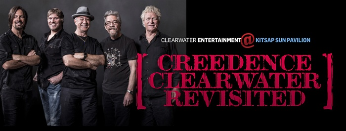 Clearwater Entertainment Presents Creedence Clearwater Revisited at Kitsap Sun Pavillion