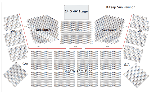 Kitsap Sun Pavilion Seating Chart