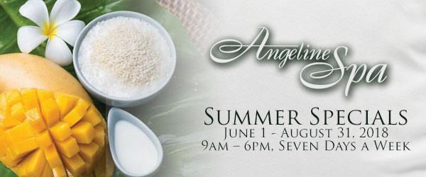 Angeline Spa Summer Specials
