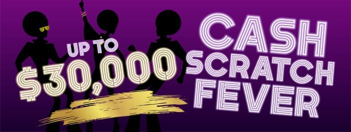 CASH Scratch Fever at Clearwater Casino Resort