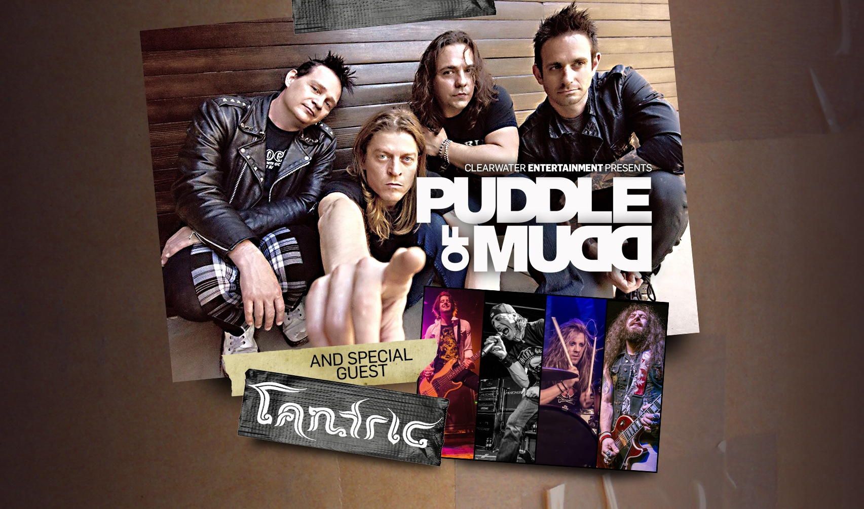 Puddle of Mud w/special guest Tantric