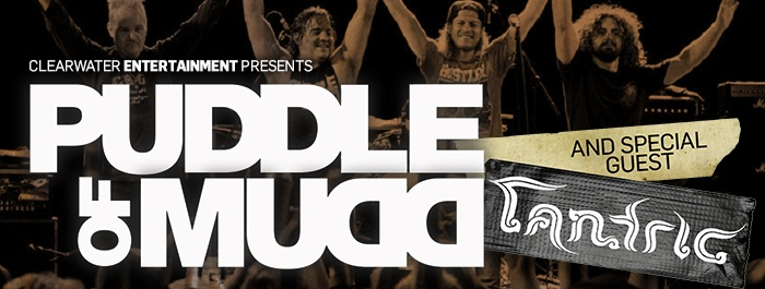 Puddle of Mudd & Tantric