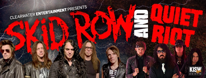 Skid Row & Quiet Riot Clearwater Casino Resort