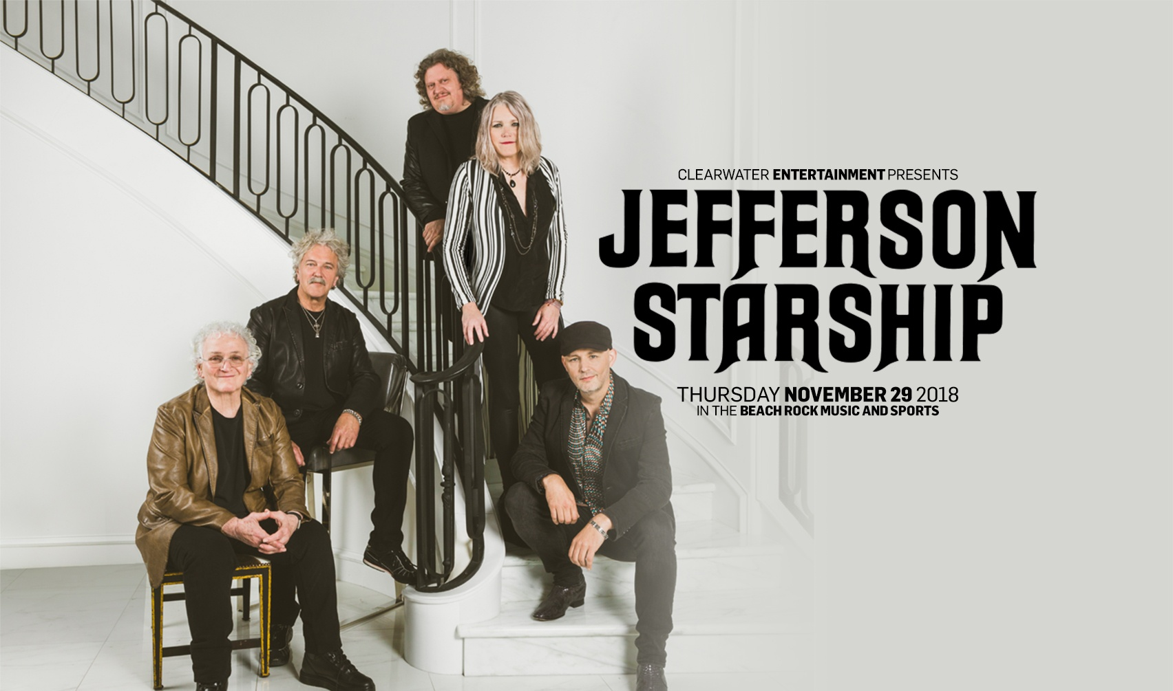 Jefferson Starship @ Beach Rock Music & Sports