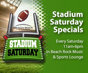 Stadium Saturday Beach Rock Music & Sports