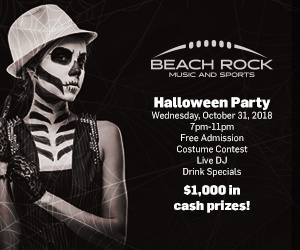 BEACH ROCK MUSIC & SPORTS PRESENTS: HALLOWEEN COSTUME CONTEST & PARTY